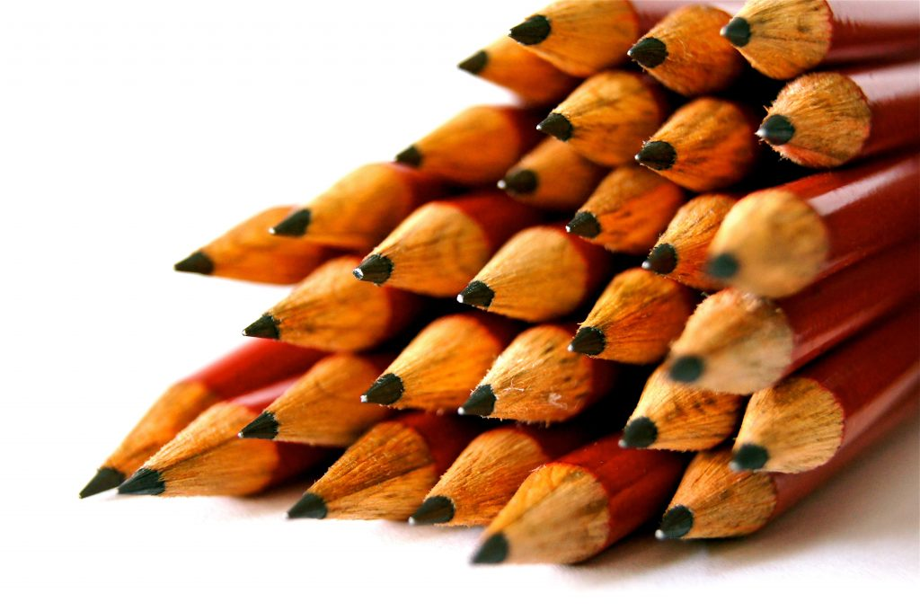 Pencils for Making Exam Notes