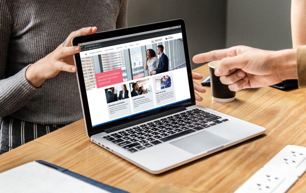 Humber-College-Real-Estate-Program-on-Laptop