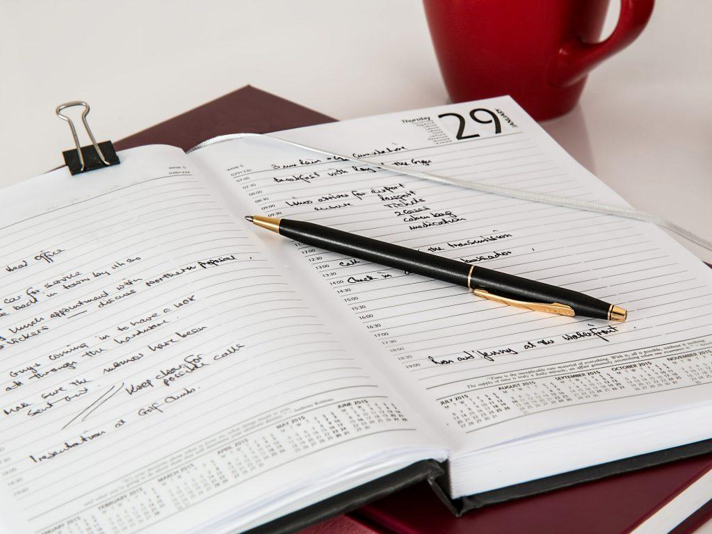 Real Estate Career Calendar Planning